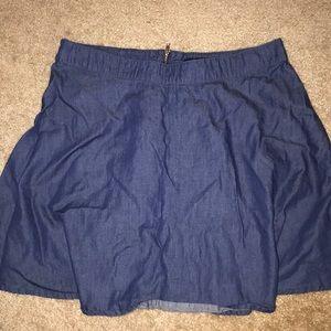 NWOT Forever 21 denim skirt